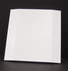 VR-300 FP Front panel, white