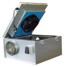 KVKE 160 Circular duct fan