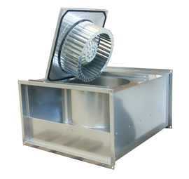 KT 50-25-4 Rectangular fan