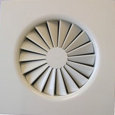 CRS-T-125-600 Swirl Diffuser