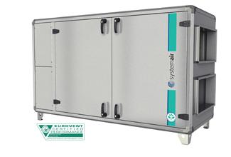 Topvex SX06 HWL-L AHU-C