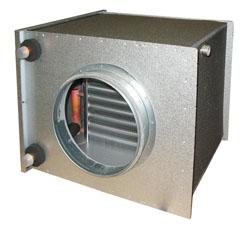 CWK 125-3-2,5 Duct cooler,circ