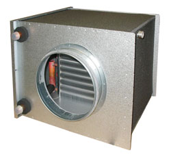 CWK 400-3-2,5 Duct cooler,circ