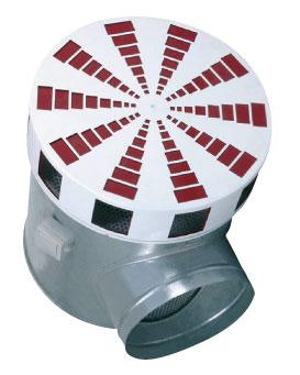 IKD-D-800 Diffuser w. damper