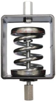 Пружинные опоры ZSD2 AXC spring d. set =112kg