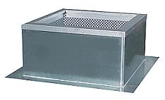 Крышный короб FDG/F 630 flat roof socket