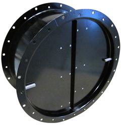 LRK-EX 450 air oper. damper Systemair