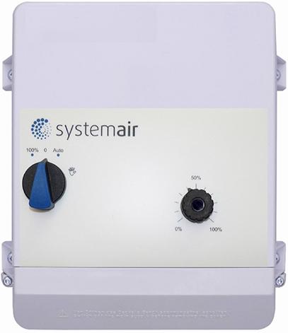 RETP 10 Temp/Pressure regulat. Systemair