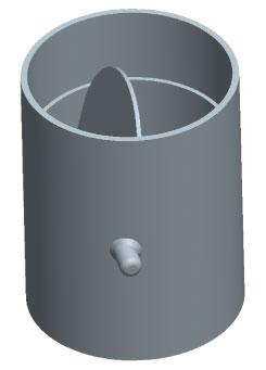VKS-P 125 gravity shutter PRF