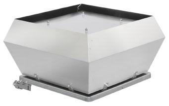 DVEX 355D4 Roof fan ATEX