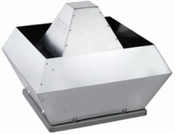 DVNI 400E4 roof fan insulated