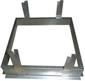 UR-500x250 PZ Fixing frame