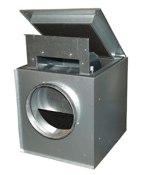 KVK 500 Ins. Circ. duct fan