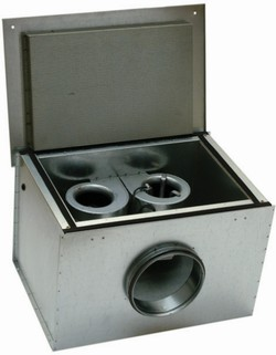 KVK DUO 200 Circular duct fan