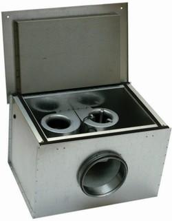 KVK DUO 125 Circular duct fan