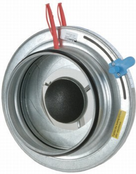 SPM-250 Iris damper with bulb