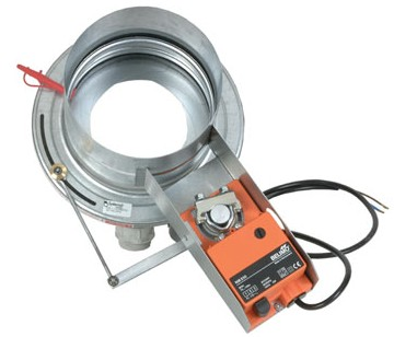 SPI-F-200/LM230A Iris damper