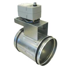 Отсечной клапан EFD 250 Damper + LF230 motor Systemair