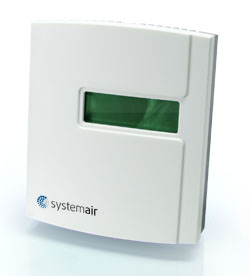 Комнатные преобразователи CO2RT-R-D Transmitter Systemair