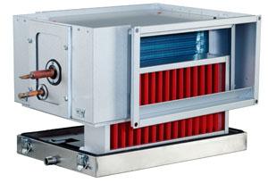 DXRE 50-25-3-2,5 Duct cooler