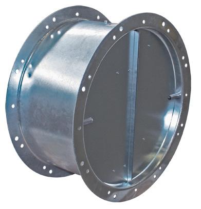 LRK 1000(F) air oper. damper Systemair